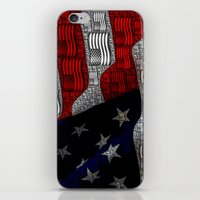 american iPhone & iPod Skins featuring American by Tracy66