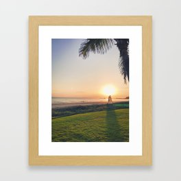 Moring Sail Framed Art Print