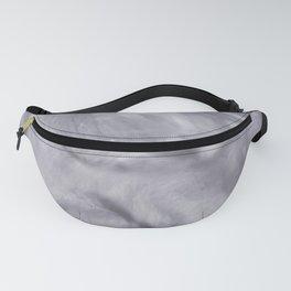 Pantone Lilac Gray Flowing Pearlescent Haze, Opalescent Fluid Art Fanny Pack