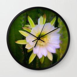 Shy Beauty Wall Clock