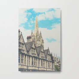Oxford University Church Metal Print