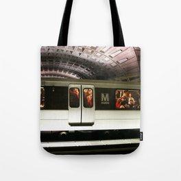 Washington DC Metro Tote Bag