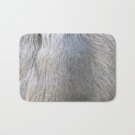 Rabbit Fur Bath Mat