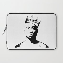PORTRAIT OF THE BEST RAPPER OF ALL TIMES Laptop Sleeve