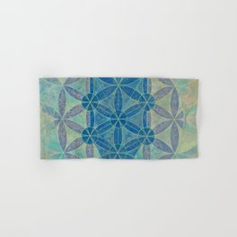 Flower of life Hand & Bath Towel