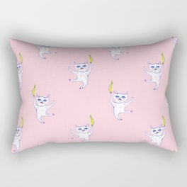 The Golden Banana - Cat Creature Rectangular Pillow