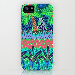 Laia&Jungle III iPhone Case