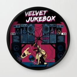 Velvet Jukebox Wall Clock