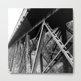 Railroad #Society6  #decor #buy art Metal Print