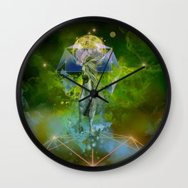 galaxy horse Wall Clock