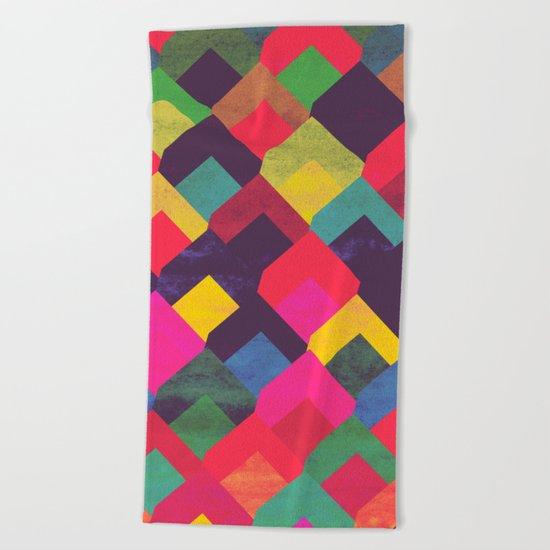 colour + pattern 11 Beach Towel