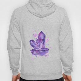 Purple Crystals Hoody