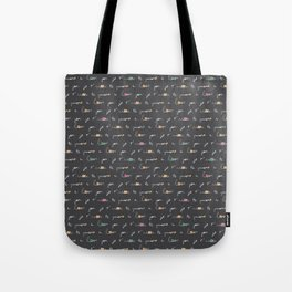 i love you je t'aime te quiero heart valentine be mine slate gray grey Tote Bag