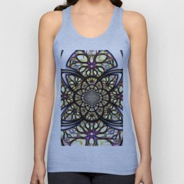The Art Of Stain Glass Unisex Tank Top