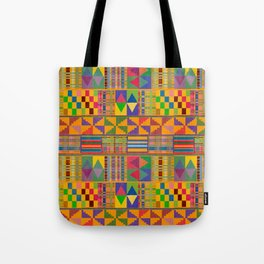 Kente Inspired Tote Bag