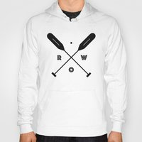 rowing Hoodies featuring Rowing x Oars by K Michelle
