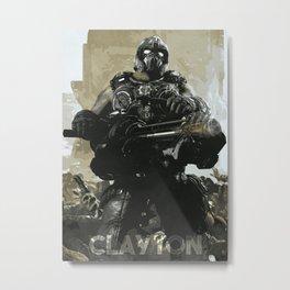 Clayton Metal Print