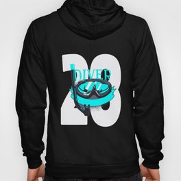 Scuba Diving 28th Birthday Diver 28 Years Gift Hoody