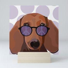 dachshund Mini Art Print