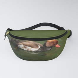 Redhead On A Lake Fanny Pack