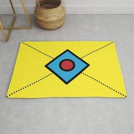 Geometric Fun 003 Rug