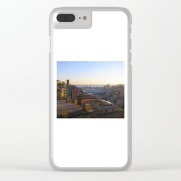 Tramonto a Genova 2 Clear iPhone Case