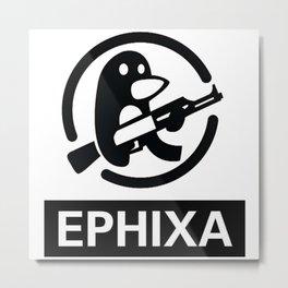 EPHIXA Metal Print