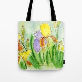 Magic Iris Tote Bag