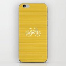 Yellow Bike by Friztin iPhone & iPod Skin