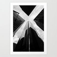 Philly X Art Print