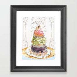Budapest Pastry Shop Framed Art Print