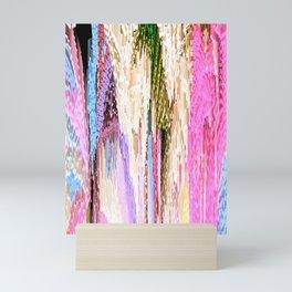 Pink Abstract Enlightenment Mini Art Print