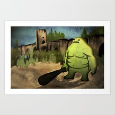 Bridge Guardian Art Print