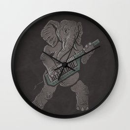 Trunk Rock Wall Clock