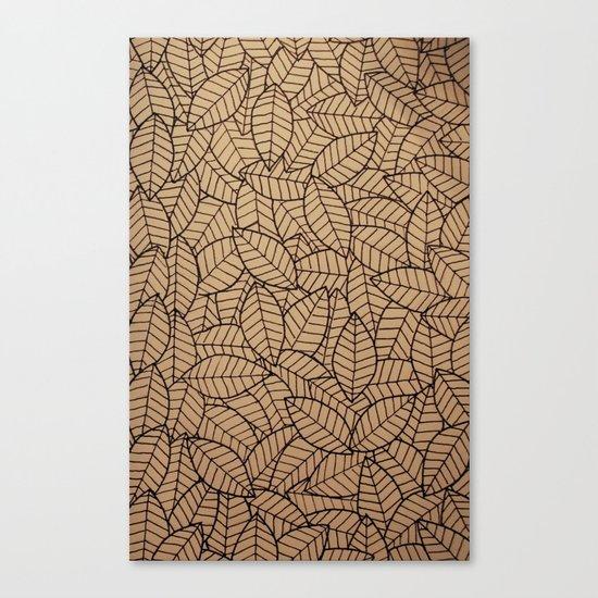 Lots-o-Leaves Canvas Print