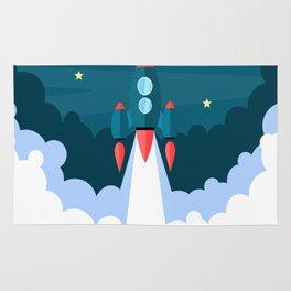 Spaceship XOX Rug