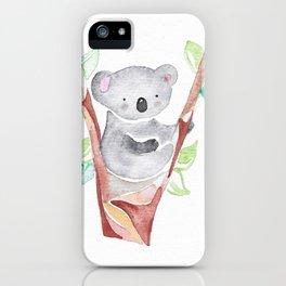 Cutesy Koala iPhone Case