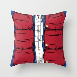 The McFly Throw Pillow