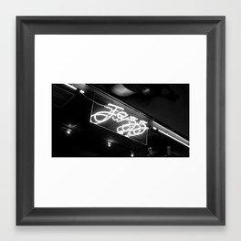 Promoting Jazz  Framed Art Print