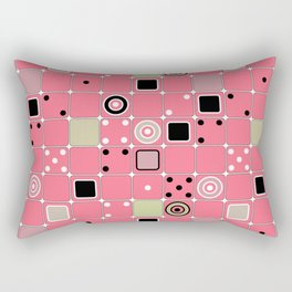 Geometrical abstract pattern Rectangular Pillow