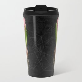 Pink Hyacinth Hydroponics (tryptic 3/3) Travel Mug