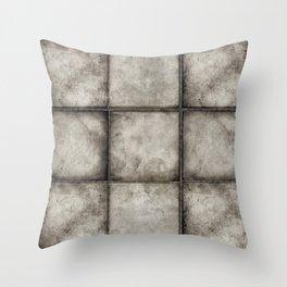 STIGMA rustic grunge earthen tiles Throw Pillow
