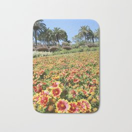 Flowerland in Spain Bath Mat
