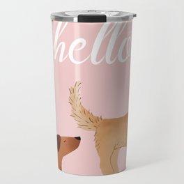 Hello, I am Dog Travel Mug