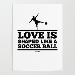 Soccer Sports Ball Games Poster