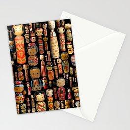 Kokeshi Stationery Cards