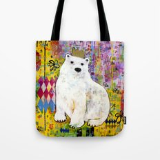 Bear Who Wears the Crown Tote Bag
