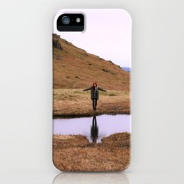 Water ghost. iPhone Case
