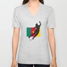 Cameroon - WWC Unisex V-Neck