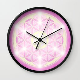 Flower of Life No. 01 Wall Clock